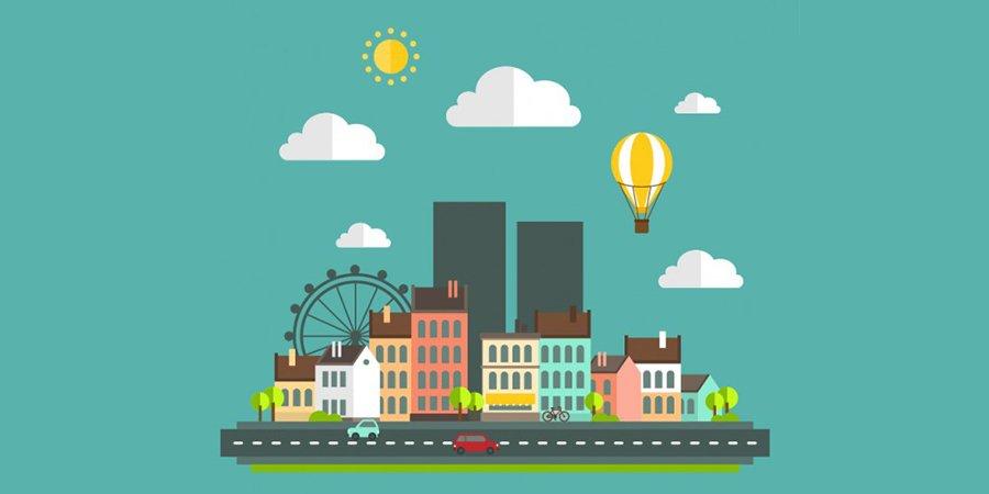 Ilustración ciudad