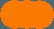 círculos naranjas