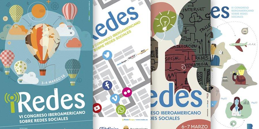 cuatro folletos de iRedes