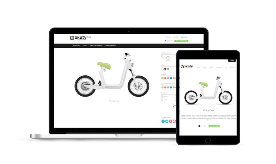 responsive design web xkuty