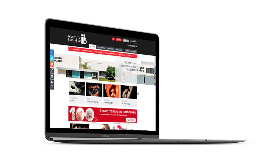 Diseño web Instituto Bernabeu