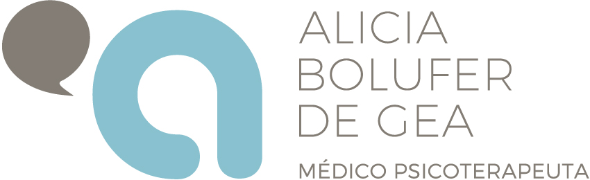 Logotipo Alicia bolufer de gea