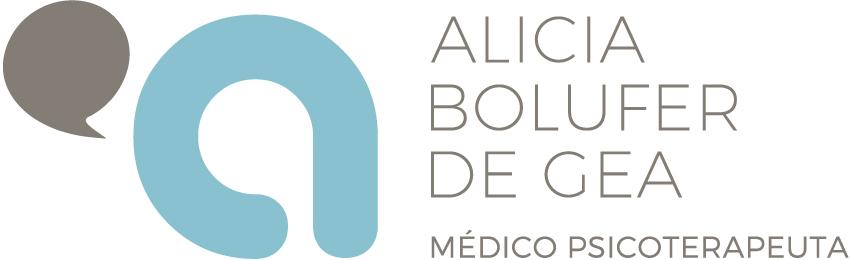 Logotipo Alicia bolufer de gea