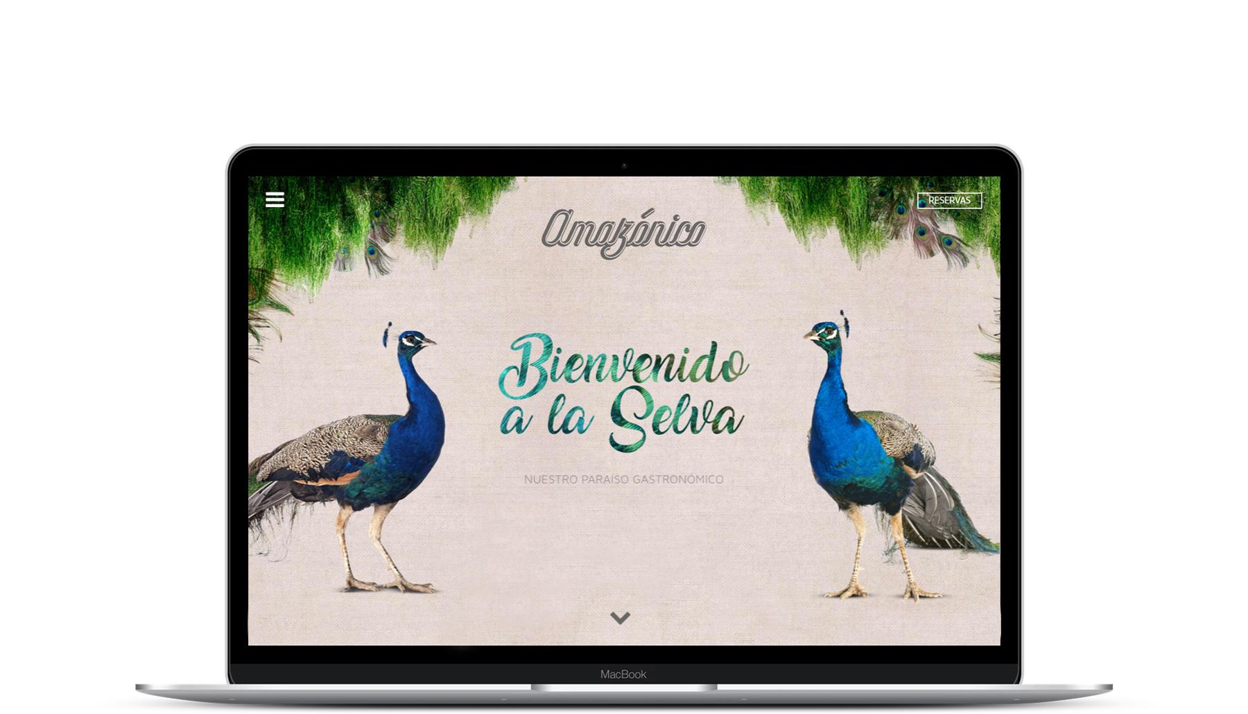 Cabecera Restaurante Amazónico